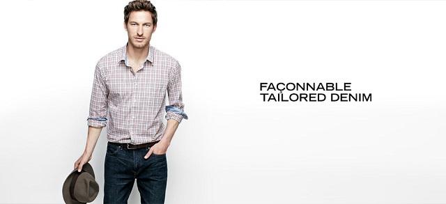 Façonnable Tailored Denim at MYHABIT