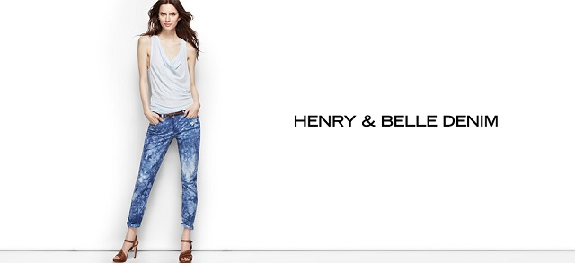 Henry & Belle Denim at MYHABIT