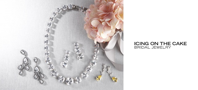 Icing on the Cake Bridal Jewelry at MYHABIT