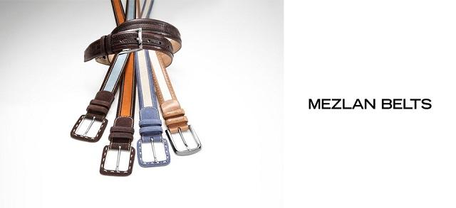 Mezlan Belts at MYHABIT