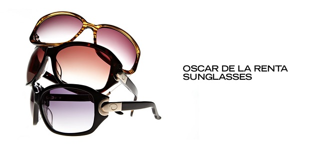 Oscar de la Renta Sunglasses at MYHABIT