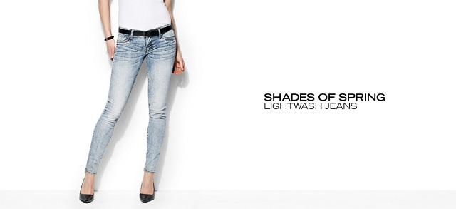 Shades of Spring Lightwash Jeans at MYHABIT
