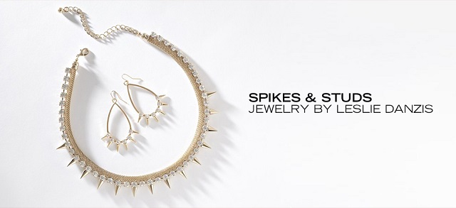 Spikes & Studs Jewelry by Leslie Danzis at MYHABIT