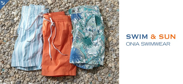 Swim & Sun Onia Swimwear at MYHABIT