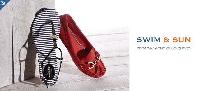 Swim & Sun Sebago Yacht Club Shoes at MYHABIT