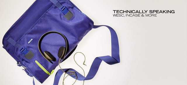 Technically Speaking WeSC, Incase & More at MYHABIT