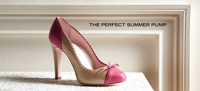 The Perfect Summer Pump at MYHABIT