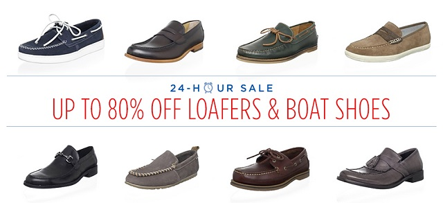 Up to 80 Off Loafers & Boat Shoes at MYHABIT