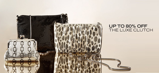 Up to 80 Off The Luxe Clutch at MYHABIT