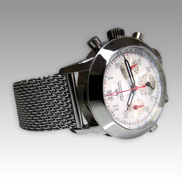 WAKMANN Germany Racetimer 1960 Stainless steel Watch