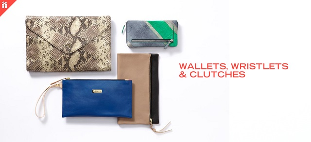 Wallets, Wristlets & Clutches at MYHABIT