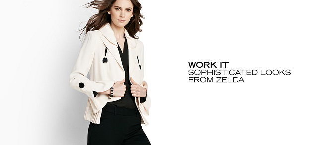 Work It Sophisticated Looks from Zelda at MYHABIT