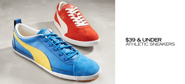 $39 & Under Athletic Sneakers at MYHABIT
