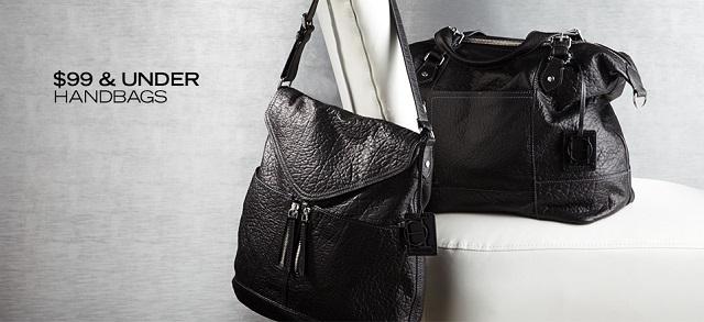 $99 & Under Handbags at MYHABIT