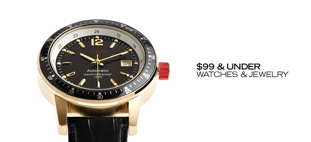 $99 & Under Watches & Jewelry at MYHABIT