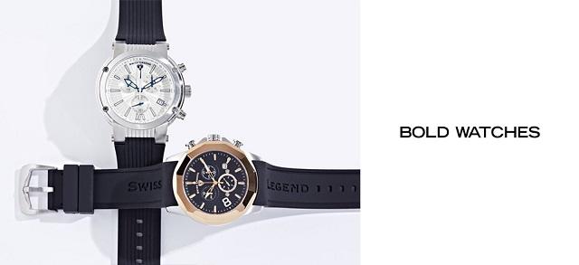 Bold Watches at MYHABIT
