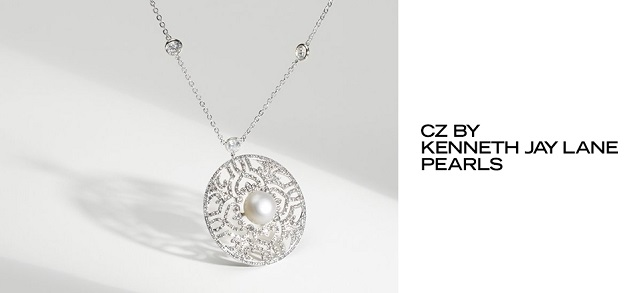 CZ by Kenneth Jay Lane Pearls at MYHABIT