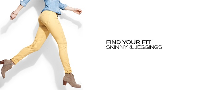 Find Your Fit Skinny & Jeggings at MYHABIT