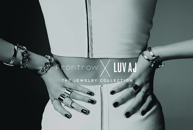 Front Row x Luv AJ Jewelry Collection