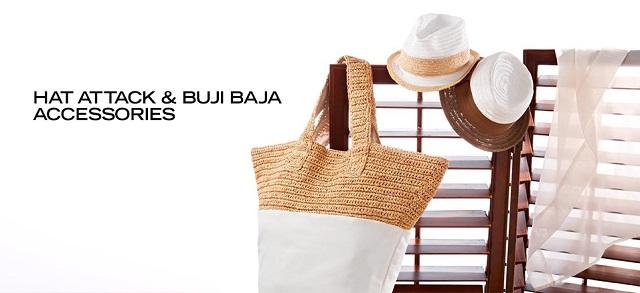Hat Attack & Buji Baja Accessories at MYHABIT