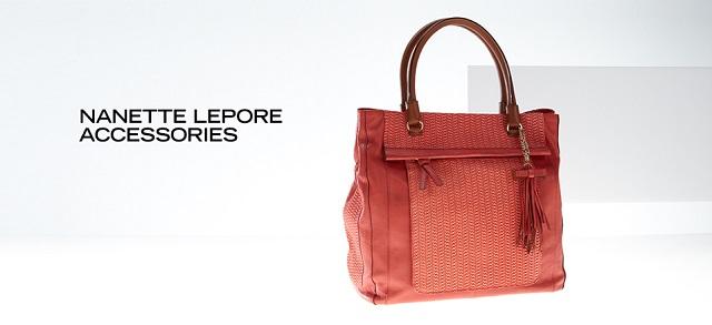Nanette Lepore Belts & Bags at MYHABIT