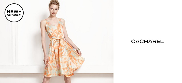 New + Notable Cacharel at MYHABIT