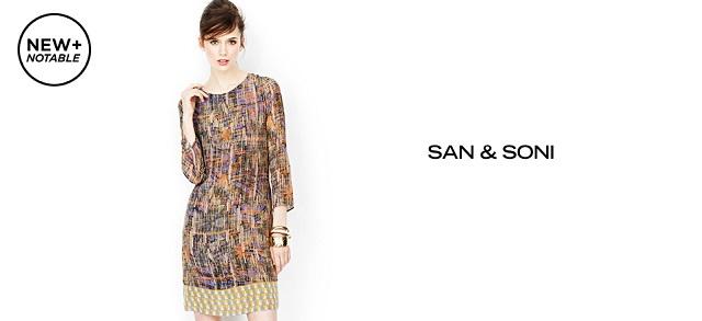 New + Notable San & Soni at MYHABIT
