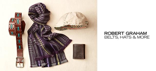 Robert Graham Belts, Hats & More at MYHABIT