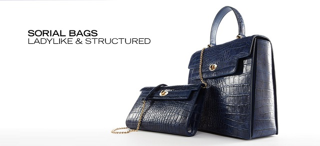 Sorial Bags Ladylike & Structured at MYHABIT