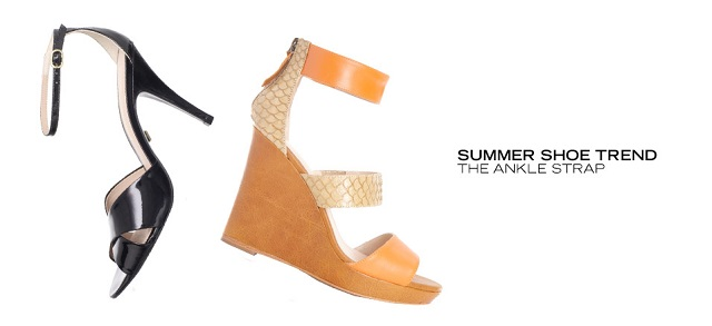 Summer Shoe Trend The Ankle Strap at MYHABIT