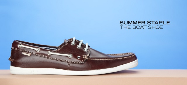 Summer Staple The Boat Shoe at MYHABIT