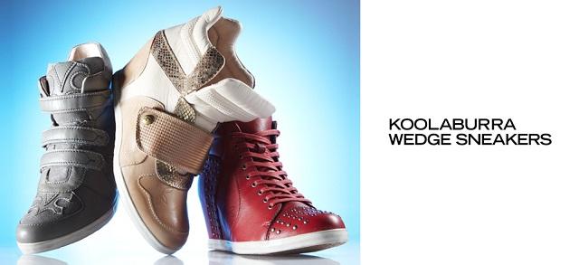 Under $100 Koolaburra Wedge Sneakers at MYHABIT