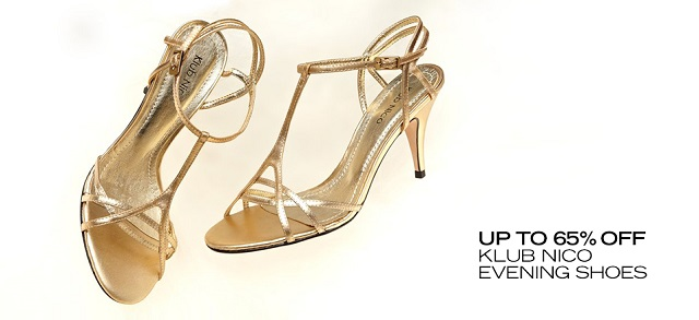 Up to 65 off Klub Nico Evening Shoes at MYHABIT