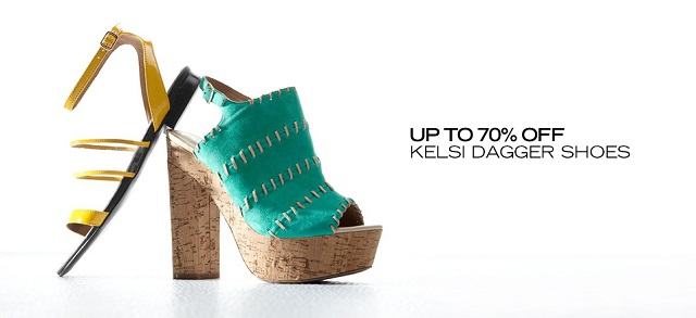 Up to 70 Off Kelsi Dagger Shoes at MYHABIT