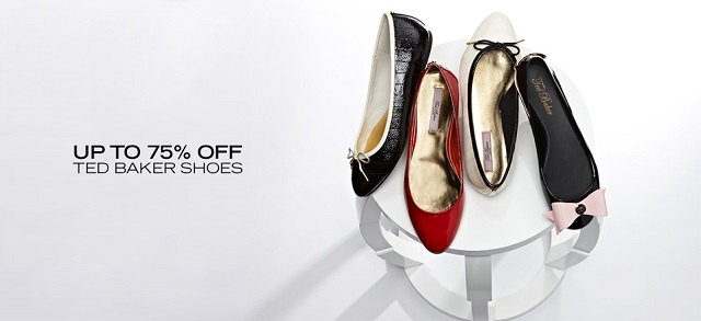Up to 75 Off Ted Baker Shoes at MYHABIT