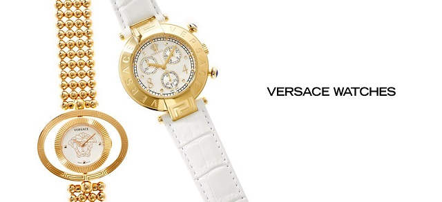 Versace Watches at MYHABIT
