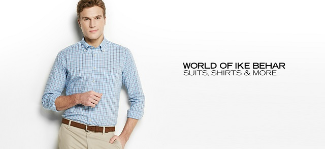 World of Ike Behar Suits, Shirts & More at MYHABIT