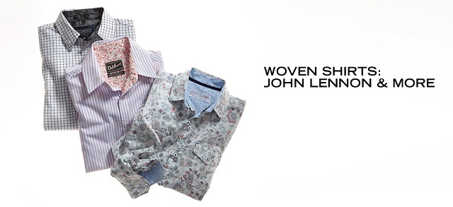 Woven Shirts John Lennon & More at MYHABIT