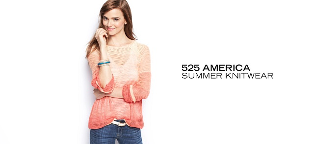525 America Summer Knitwear at MYHABIT