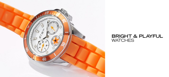 Bright & Playful Watches at MYHABIT
