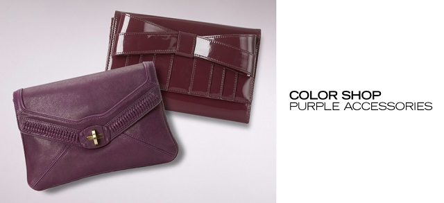 Color Shop Purple Accessories at MYHABIT