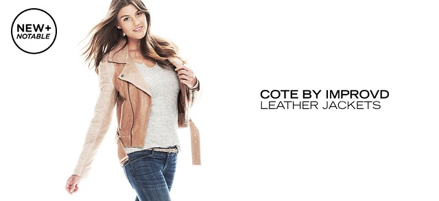 Cote by IMPROVD Leather Jackets at MYHABIT