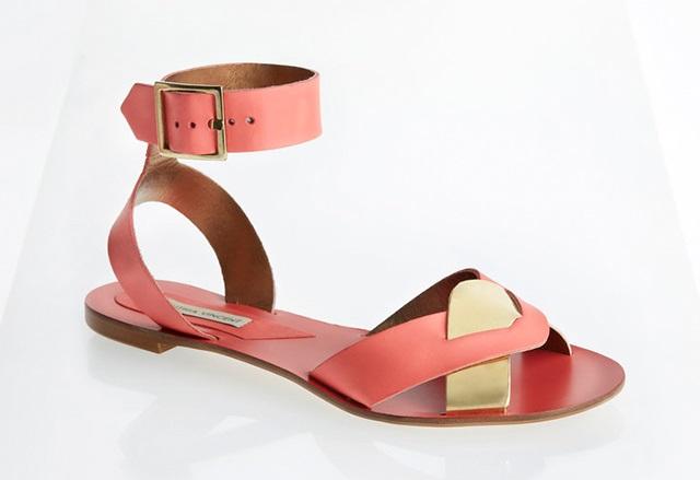 Cynthia Vincent Flora Flat Sandals