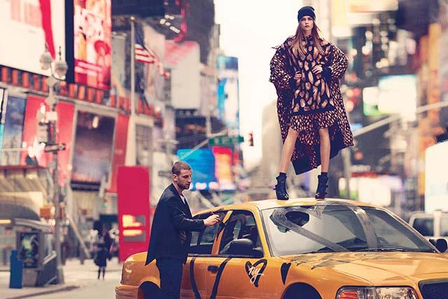 DKNY Fall 2013 AD Campaign