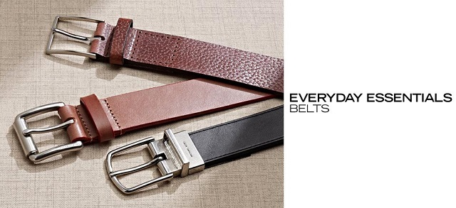 Everyday Essentials Belts at MYHABIT