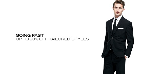 Going Fast Up To 90 Off Tailored Styles at MYHABIT