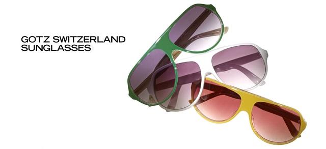 Gotz Switzerland Sunglasses at MYHABIT