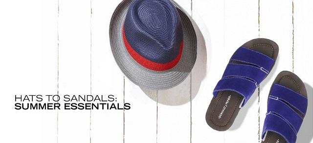 Hats to Sandals Summer Essentials at MYHABIT