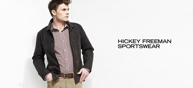 Hickey Freeman Sportswear at MYHABIT