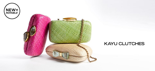 KAYU Clutches at MYHABIT
